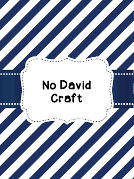 David Craft inspired by David books by David Shannon