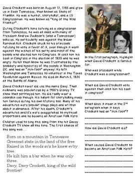David Crockett: King of the Wild Frontier
