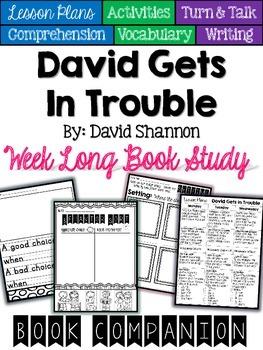 David Gets In Trouble Book Companion