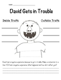 David Gets in Trouble Character Traits