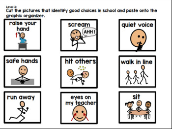 David Goes To School: Adapted for Special Learners