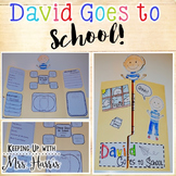 David Goes to School Lapbook