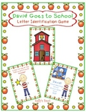David Goes to School  A Letter Identification Game