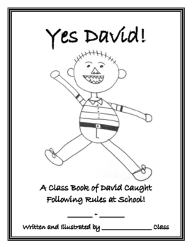 David Goes to School Class Book, Yes David!