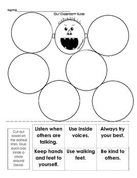 worksheet: David Goes To School Worksheets Full Screen. David Goes ...