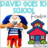 David Goes to School Craftivity Freebie