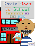 David Goes to School Book Extension Study with Activities and Printables