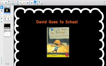 David Goes to School, Smartboard