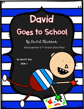 David Goes to School Story Pack