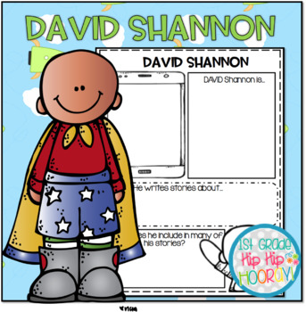 Craft and Activities to Accompany Favorite David Shannon Stories!