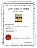 David Goes to School by David Shannon  Shared Reading Daily Five