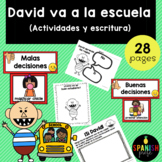 David Goes to School in Spanish (David va a la escuela)