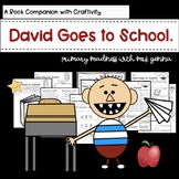 David Goes to School with Craftivity