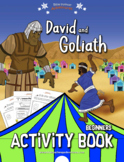 David & Goliath Activity Book for Beginners