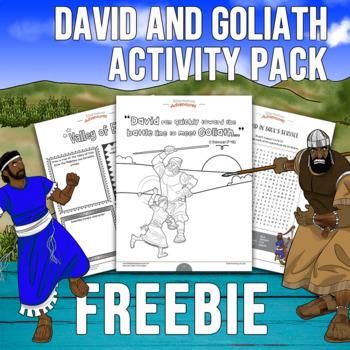 FREEBIE David & Goliath Activity Pack