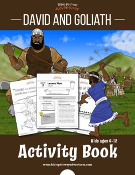 David & Goliath Activity Book & Lesson Plans