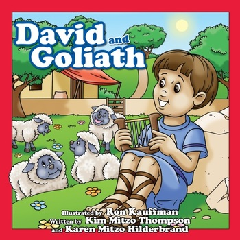 David & Goliath Christian eBook with Read-Along Audio Track