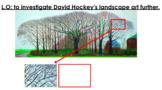David Hockney - Landscape Artist Topic