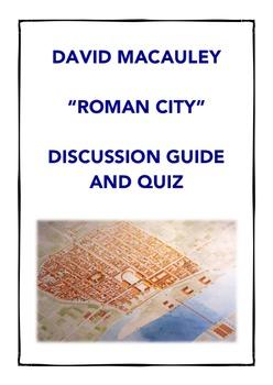 Ancient Rome: David Macaulay Roman City Documentary