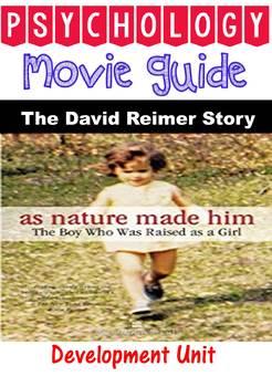 David Reimer Documentary Questions for Psychology Devleopment Unit