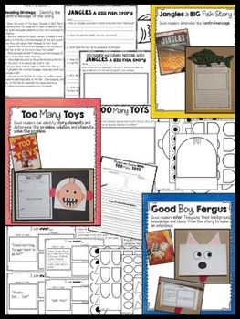 David Shannon Author Study: Activities & Crafts to Review Reading Strategies