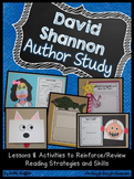 David Shannon Author Study: Activities & Crafts to Review
