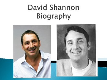 David Shannon Biography PowerPoint