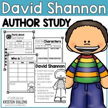 "David Shannon ""Click-and-Print"" Book Bundle"