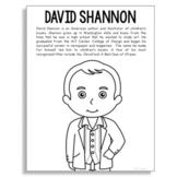 David Shannon, Famous Author Informational Text Coloring P