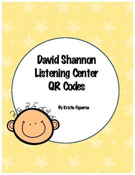 David Shannon Listening Center QR Codes
