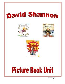 David Shannon Picture Book Unit