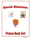 David Shannon Picture Book Unit