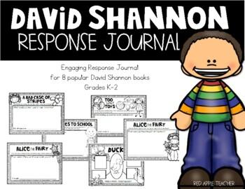 David Shannon Response Journal for K-2