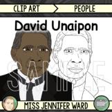 David Unaipon Clip Art