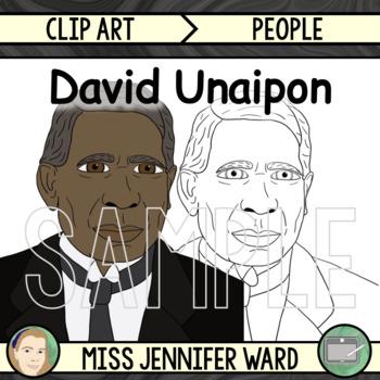 David Unaipon Clipart