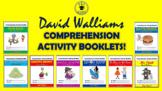 David Walliams Comprehension Activities Bundle!
