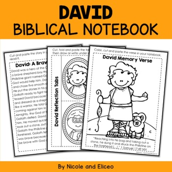 Bible Character Lessons - David and Goliath