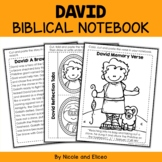 David and Goliath Bible Lessons Notebook