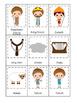 David and Goliath 3 Part Matching preschool Bible curricul