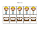 David and Goliath 40 Pattern Cards preschool Christian curriculum game. Bible ma