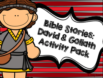 David and Goliath Activity Pack