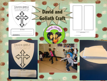 David And Goliath Crafts Worksheets & Teaching Resources | TpT