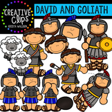 David and Goliath {Creative Clips Digital Clipart}