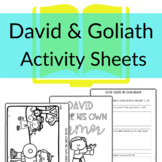 David and Goliath: David Wears His Own Armor Printable Act