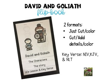 photograph about David and Goliath Printable Story named David and Goliath Change E book