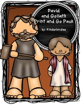 David and Goliath Print and Go Pack