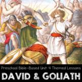 David and Goliath Unit Study - Homeschool Preschool Bible Lessons