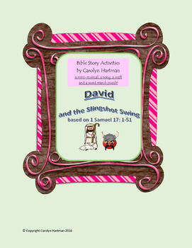 David and the Slingshot Swing:  Bible Story Activities