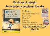 David va al colegio David goes to school Spanish