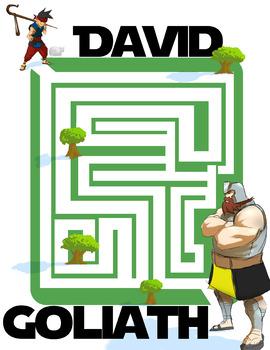 David vs Goliath maze